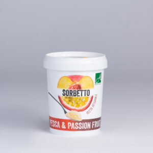 GELATO PESCA E PASSION FRUIT